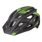 ETAPE cyklistická přilba ESCAPE, černá|zelená mat