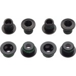 SRAM CRANK CHAINRING BOLT KIT 4X2 ALUMINUM/STEEL BLACK QTY 4