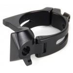 SRAM Braze-on Adaptor Red 34.9 s Chainspotter Stop, Black