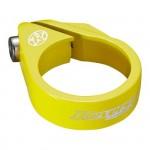 REVERSE Objímka sedlovky Bolt 34,9 mm neon žlutá