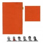SENSOR TUBE MERINO AIR šátek multifunkční tm.oranžová