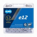 KMC E12 EPT STŘÍBRNÝ BOX