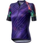 CASTELLI dámský dres Climber's, deep purple