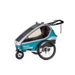 QERIDOO Kidgoo1 Sport 2020 - Petrol Blue 2020