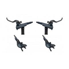 SHIMANO Brzdy SLX BR-M7100 černé přední + zadní hydraulické kotoučové