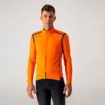 CASTELLI pánská bunda Perfetto RoS Long Sleeve, orange