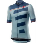 CASTELLI pánský dres Trofeo, winter sky/light steel blue
