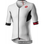 CASTELLI pánský dres Free Speed 2 Race Top, white/black
