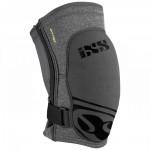 IXS FLOW ZIP soft chrániče kolen šedé