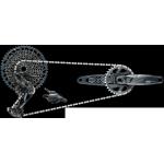 SRAM Sada GX Eagle DUB, Lunar (přehazovačka, páčka s objímkou, kliky DUB 12s 175 BOOST s