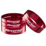 """REVERSE Podložka distanční Alloy Ultra-Lite set 1 1/8"""" červené"""