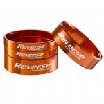 """REVERSE Podložka distanční Alloy Ultra-Lite set 1 1/8"""" oranžové"""