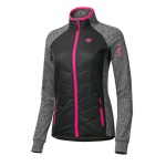 ETAPE dámská bunda/mikina SIERRA, černá/růžová