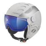 MANGO lyžařská přilba CUSNA VIP, bílá/stříbrná mat