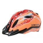 LEVIOR přilba PRIMO Sport oranžovo/červená