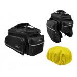 LONGUS taška Increaser na nosič 7,8l černá s bočn