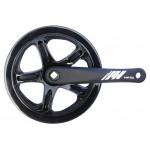 MAX1 kliky 1-převodník single 175mm/46z černý,kryt