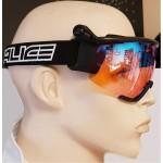 SALICE lyžařské brýle běžecké 907RW black/RW radium