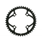 TRUVATIV Chain Ring MTB 42T V4 104 Alum 3mm Blast Black