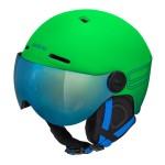 ETAPE dětská lyžařská přilba SPEEDY PRO, zelená mat