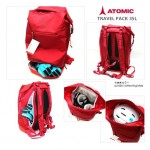 ATOMIC BAG TRAVEPACK 35 L/Br Red