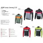 NALINI Dres AIW Logo Jersey 2.0 - Red 2019