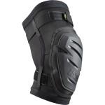 IXS HACK RACE knee chrániče kolen černé
