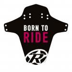 REVERSE Blatník přední MudGuard Born to ride Black / Purple