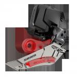 SRAM Přesmykač Rival eTap AXS D1 Braze-on (baterie není součástí balení)