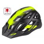 ETAPE cyklistická přilba VIRT LIGHT, černá/žlutá fluo mat