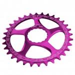 RACE FACE převodník SINGLE Direct Mount, N/W 30T 10-12SPD fialová