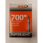 CST duše 18/25-622 FV 60mm LIGHT 700x18/25