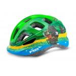 R2 Helma dětská BUNNY 46-50cm zelená modrá