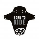 REVERSE Blatník přední MudGuard Born to ride Black / Grey
