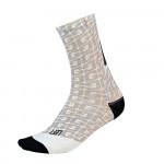 GAERNE ponožky Monogram Long white S-M