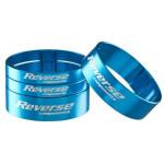 """REVERSE Podložka distanční Alloy Ultra-Lite set 1 1/8"""" Light Blue"""