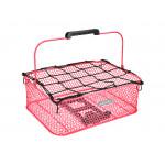 ELECTRA Košík nízký Honeycomb MIK se síťkou - Hot Pink 2021