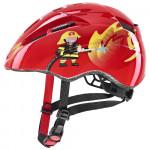 UVEX přilba 21 KID 2 46-52cm Red Fireman