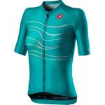 CASTELLI dámský dres Aero Pro W, turquoise green