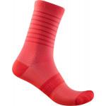 CASTELLI dámské ponožky Superleggera W 12, brilliant pink