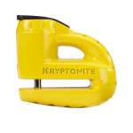 KRYPTONITE Keeper 5-S2 Disc lock - Matte Yellow w/Reminder cable 2022