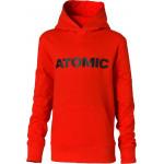 ATOMIC mikina RS kids hoodie red 140 21/22