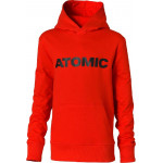 ATOMIC mikina RS kids hoodie red 152 21/22