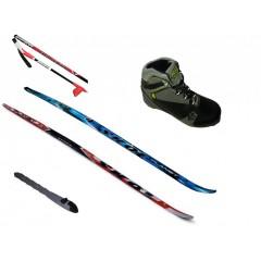 SKOL Set běžky, vázání RS, hůlky, boty