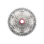 SUNRACE kazeta MX3, 10-ti, 11-46 stříbrná